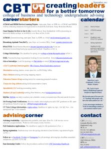 Advising Newsletter