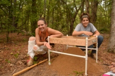 UT Tyler, Anthropology/Geography Club, Camp Tyler, Rachel Gannon, Kayla Cobble, Fall 2013