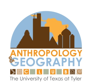 Logo Design for Anthropology/Geography Club at UT Tyler, Illustrator, Fall 2013