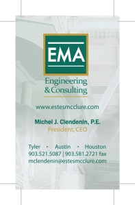 EMA business card front