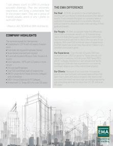 EMA Houston Flyer, back, introducing Houston location