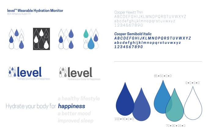 Mini styleguide for Level logo redesign