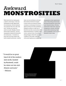 Type Specimen Booklet, spread 6