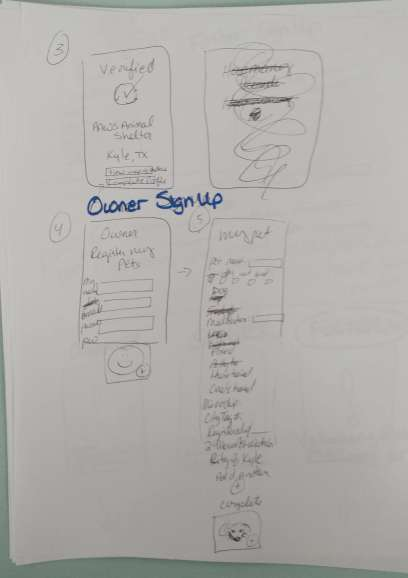 UX Design Fall 2017 Paper Prototype 2