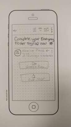 UX Design Fall 2017 Paper Prototype 7
