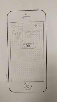 UX Design Fall 2017 Paper Prototype 8