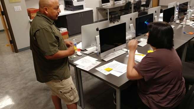 Roland and Teresa - User Testing