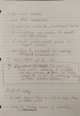 Notes on notebook paper--what works, what doesn't.